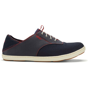 OluKai M's Nohea Moku Shoes Trench Blue/Deep Red